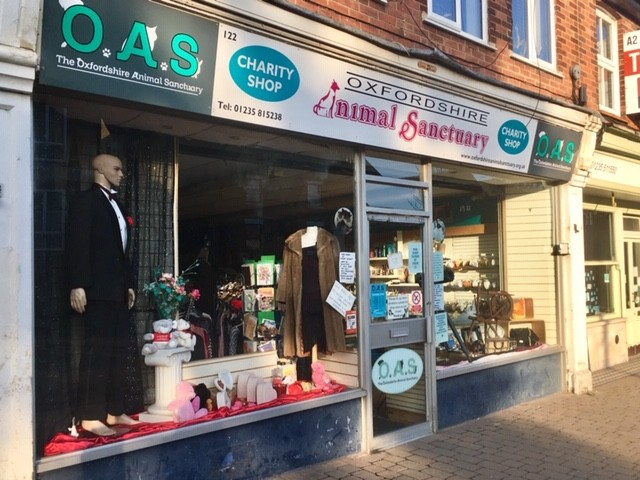 Oxfordshire Animal Sanctuary charity shop, Didcot