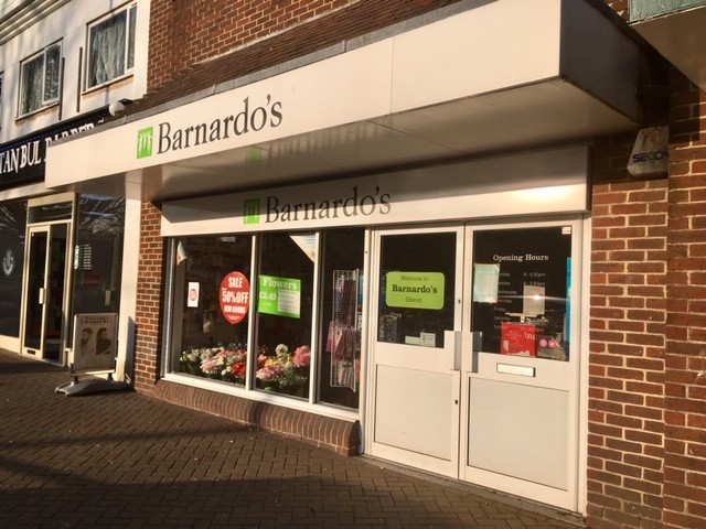 Barnardo's charity shop, Didcot