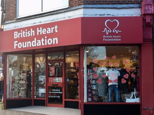 British Heart Foundation charity shop, Didcot
