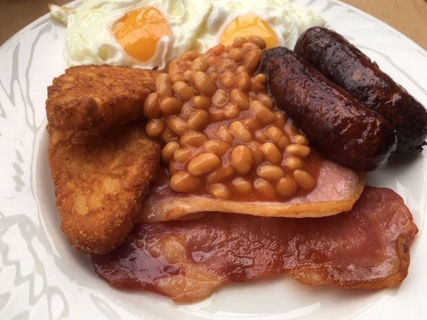 Cooked breakfast, Hadden Hill golf club