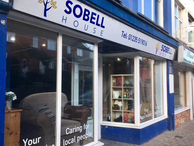 Sobell House charity shop, Didcot