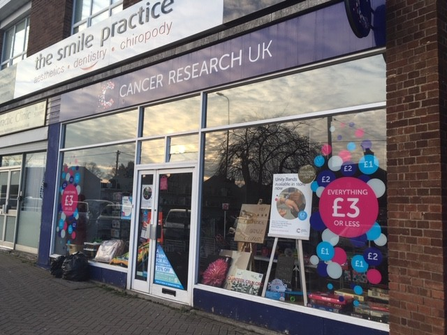 Cancer Research charity shop, Didcot
