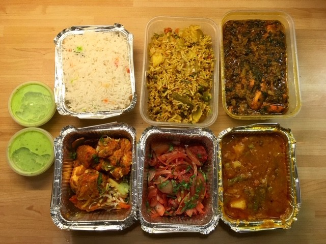 Takeaway from Little India, Didcot