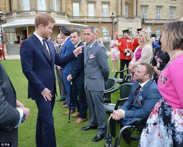 Jack meeting Prince Harry