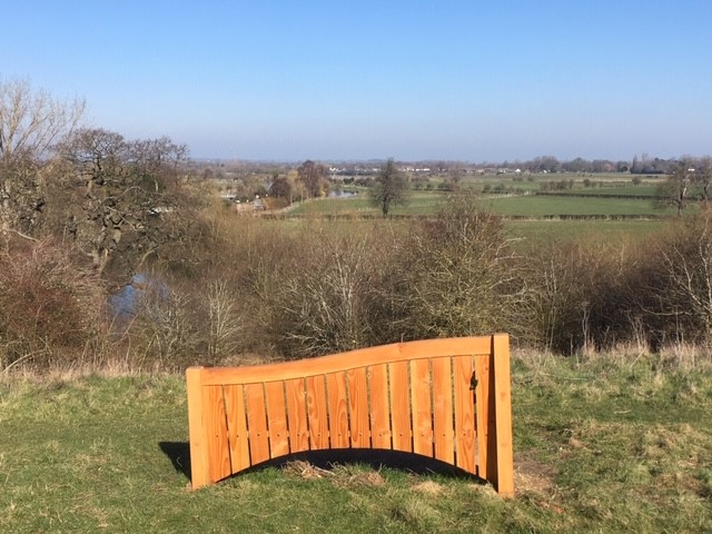View over the River Thames, Wittenham Clumps