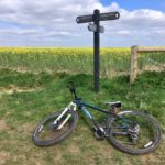 Cycle rides around Didcot: along the Ridgeway to Court Hill, near Wantage