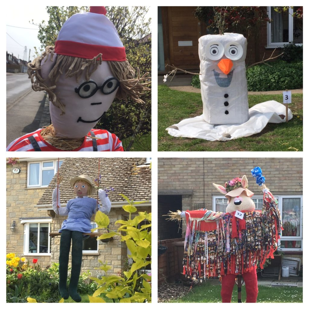 Sutton Courtenay scarecrows
