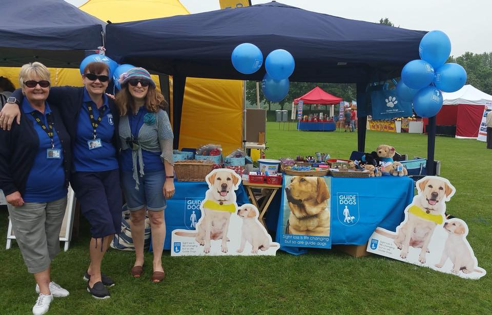 Didcot Guide Dogs Association stand