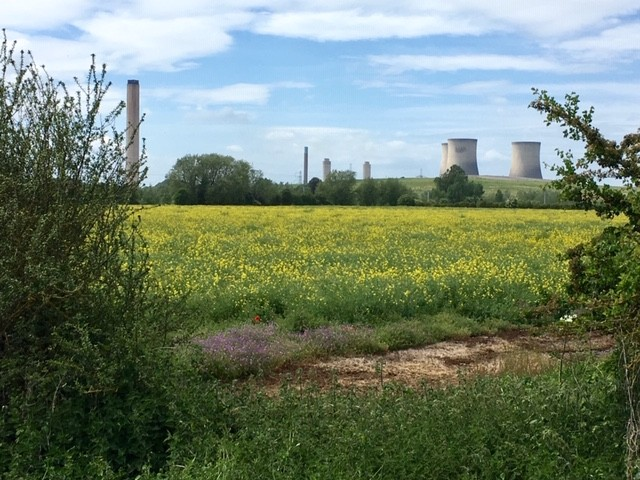 National Cycle Route 5, Long Wittenham to Didcot