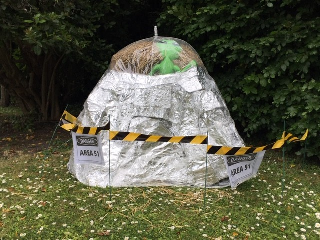 Area 51, East Hagbourne scarecrow trail