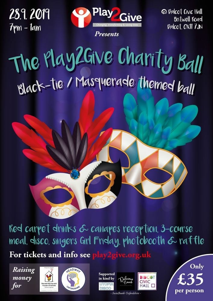 Play2Give charity ballI
