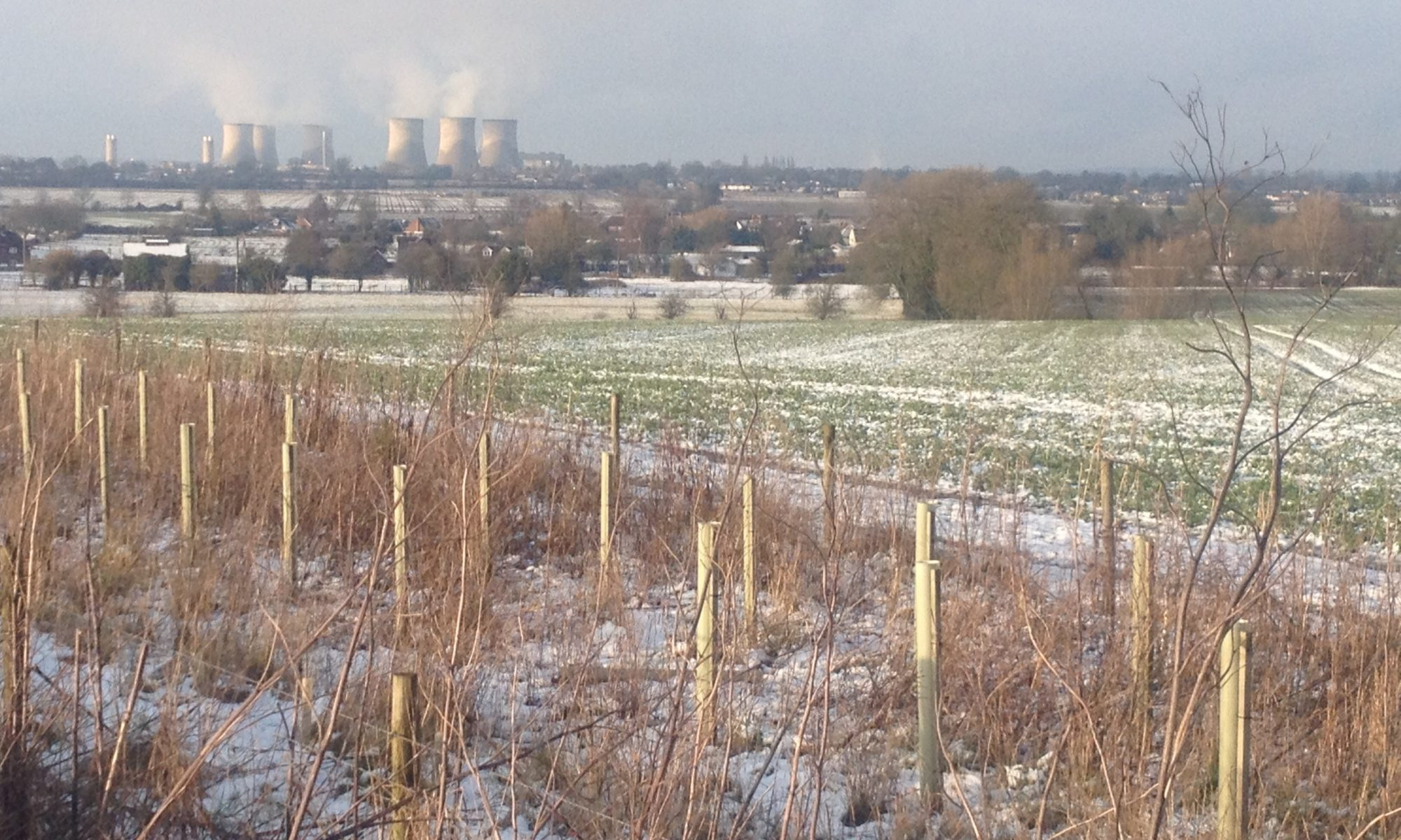 Didcot power station from near West Hagbourne