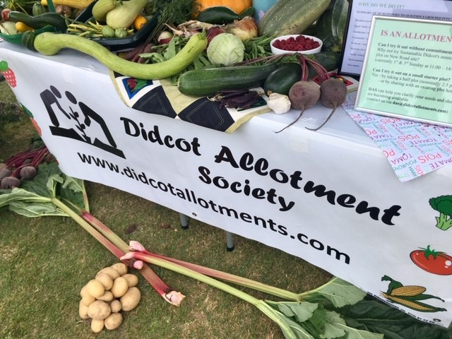 Didcot allotment society stand