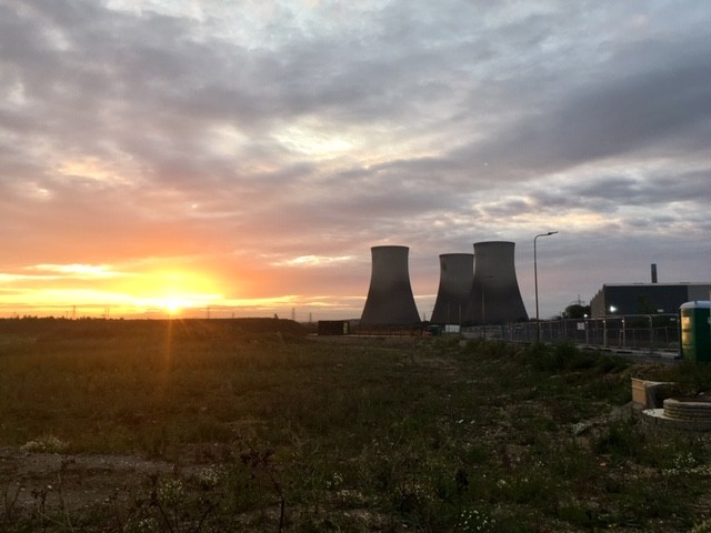 The last sunrise for Didcot A Power Station