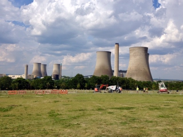 Didcot Power Station 2014