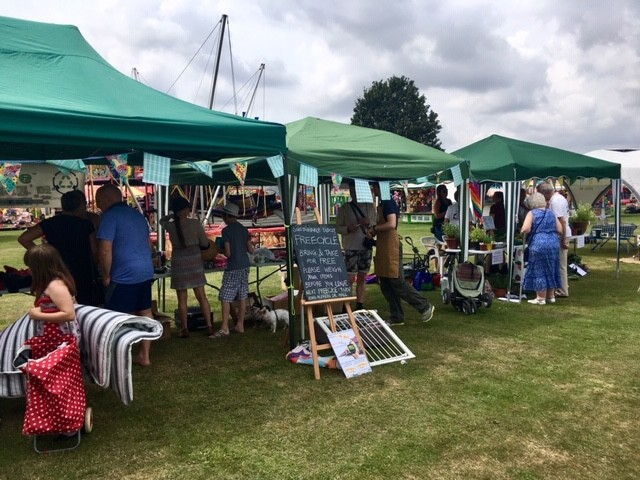 Didcot summer fayre stalls