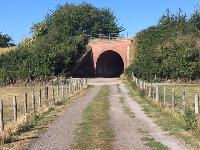 Old railway line bridge, East Hagbourne