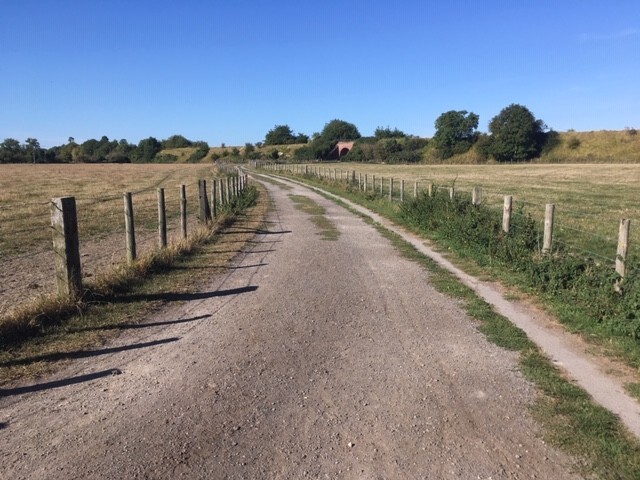 Path between East and West Hagbourne