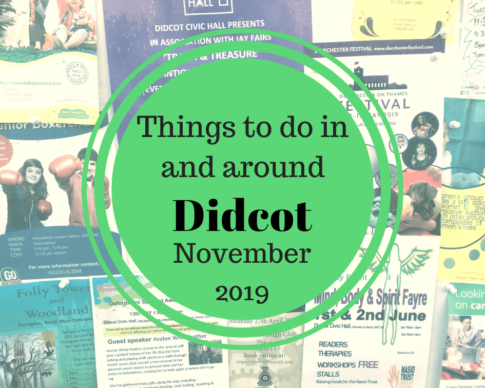 Things to do in November 2019