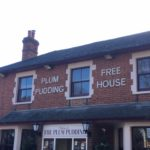 Lunch at The Plum Pudding, Milton