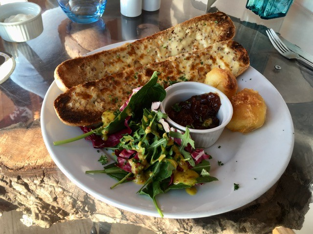 Welsh rarebit baguette, The Plum Pudding
