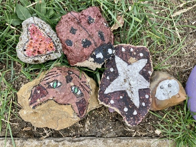 Didcot snake stones