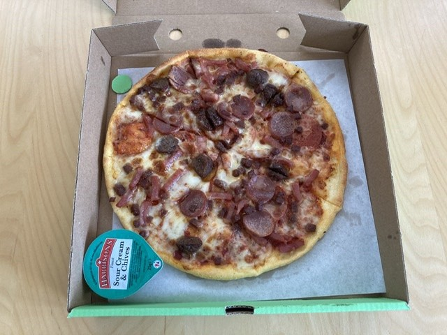 Meat lovers pizza, Caprinos, Didcot