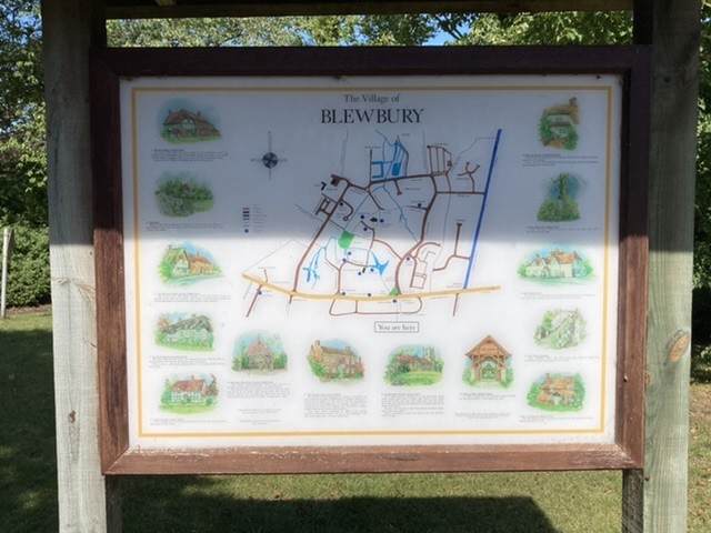 Map of Blewbury