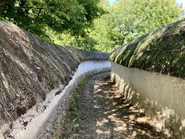 Cob walls, Blewbury