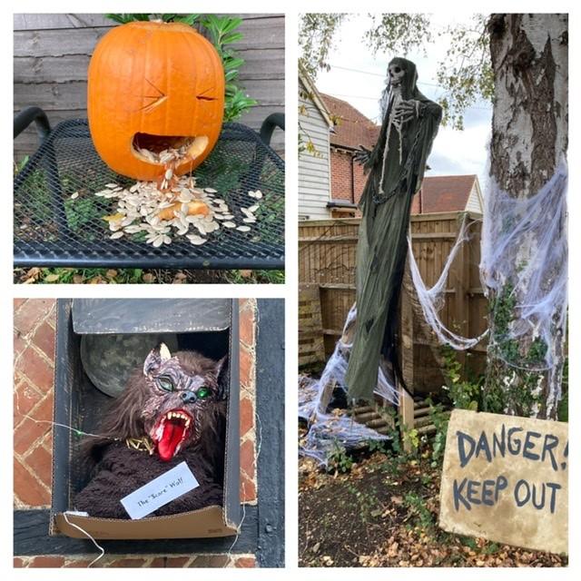 East Hagbourne Halloween trail