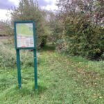 Mowbray Field Nature Reserve, Didcot: autumn