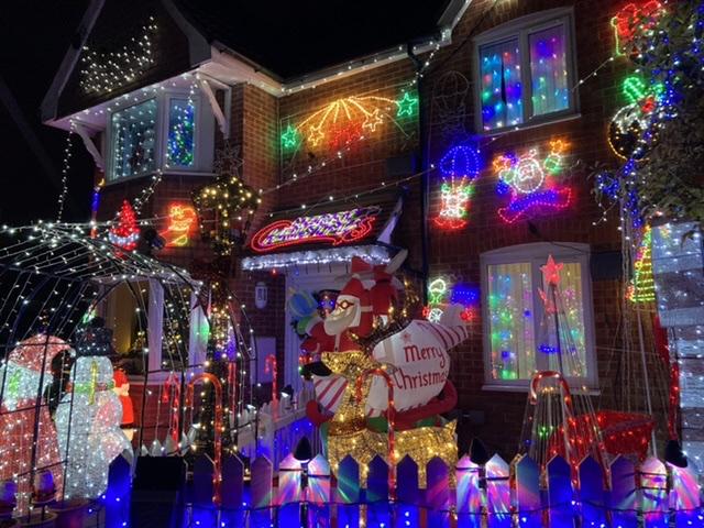 Medlock Grove Christmas lights, Didcot