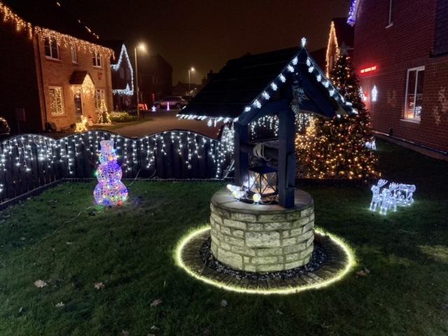 Blissett Christmas lights, Didcot