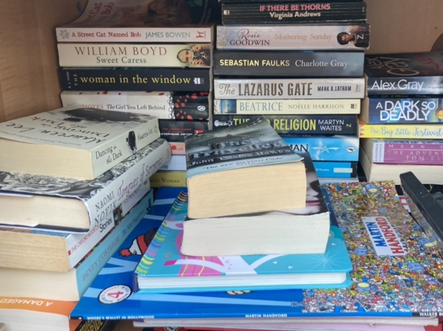Little free library books, Didcot