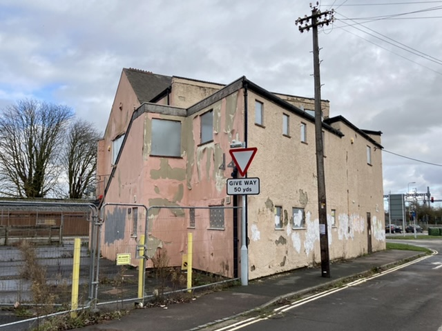 The old Didcot Labour club building