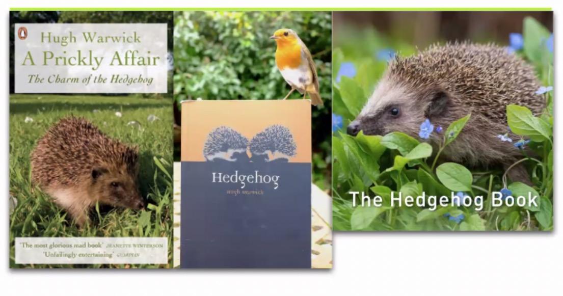 Hugh Warwick hedgehog books