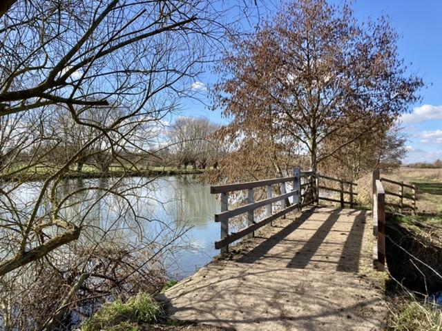 River Thames near Benson