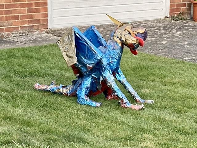 2021 West Hagbourne dragon