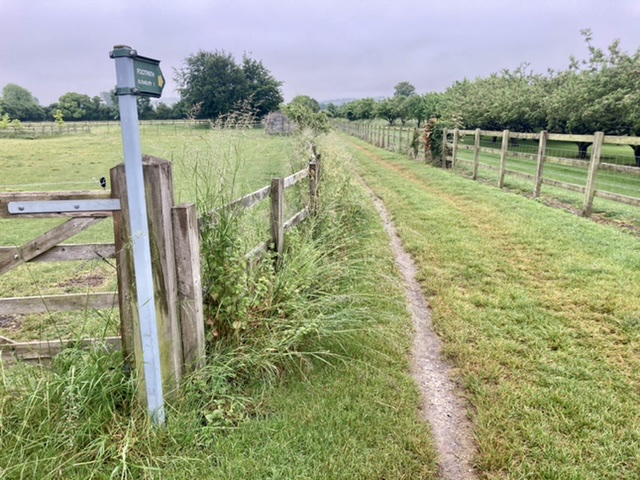 Footpath from Upton to Blewbury