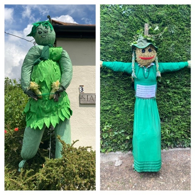2021 East Hagbourne scarecrow trail