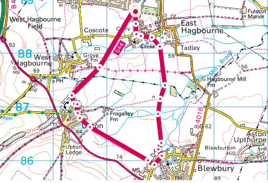 Didcot-Blewbury circular walk
